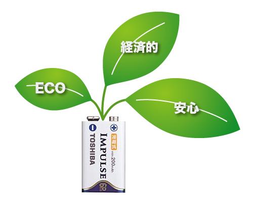 エコで経済的で安心|スタンガンにはとにかく充電式電池がオススメ