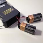 スタンガンの電池
