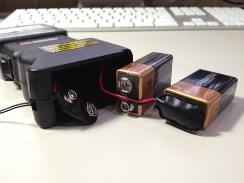 スタンガンの電池の接続方法(裏技) 電池の接続