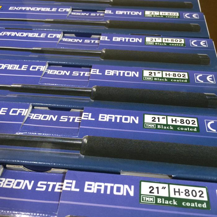 4135カーボンスチール特殊警棒 H-802B
