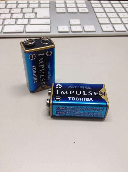 スタンガンに使用してはいけない電池