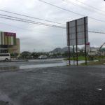 福岡は記録的な大雨(>_