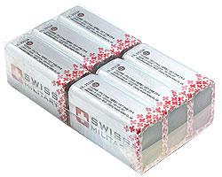 スタンガン用電池 スイスミリタリー 6個パック