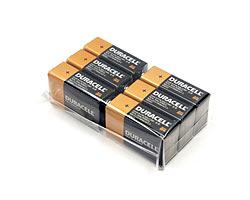 スタンガン用電池 デュラセル 6個パック