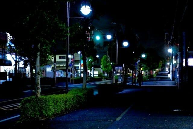 危険な夜道